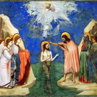 Baptism of Christ - Giotto -1305
