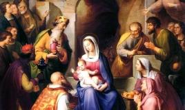 The Nativity [detail] BY ROHDEN FRANZ VON GEBURT CHRISTI