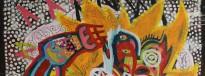 Detail from Tena Koe Taniwha by Te Maranui Hotere
