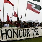Waitangi protest speaking to power -Waatea